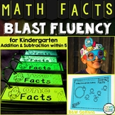 Kindergarten Math Facts to 5: Addition and Subtraction Fluency for Math Centers