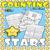 PreK Kindergarten Math Mats Ten Frames No-Prep Worksheets