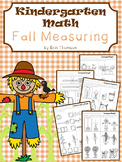 Kindergarten Math ~ Fall Measuring