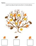 Kindergarten Math (Fall Theme)