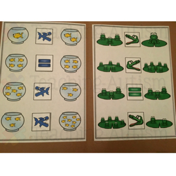 Kindergarten Common Core Math File Folder Activities