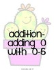 Kindergarten Math Fluency Addition and Subtraction BUNDLE (N.MR.00.09/K.OA.A.2)