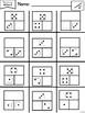 Kindergarten Math Fluency Sheets
