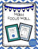 Kindergarten Math Focus Wall