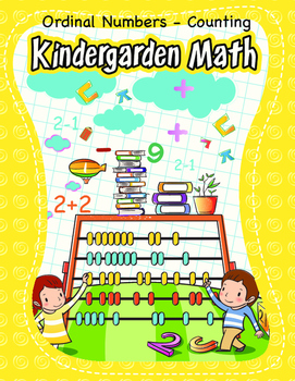 Kindergarten Math - Forward Backward Counting - Ordinal Numbers