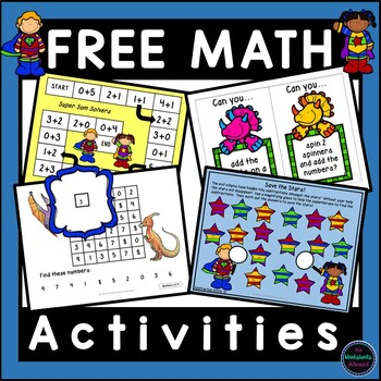 Freebie Kindergarten Math Resources