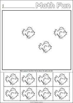 Kindergarten Math Fun - Making Groups