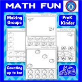 Kindergarten Math Fun - Making Groups
