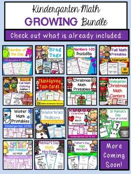 Kindergarten Math Common Core Worksheets