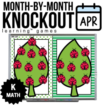 Kindergarten Math Game [April Knockout Club]