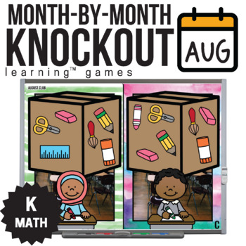 Kindergarten Math Game [August Knockout Club]