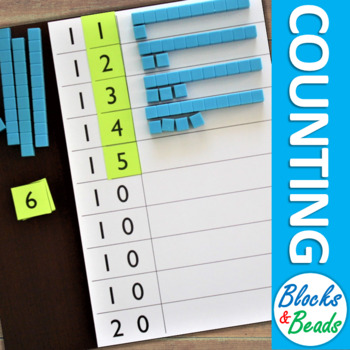 Kindergarten Math Game: Counting to 20