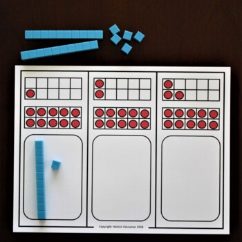 Kindergarten Math Game: Matching Quantities to 20