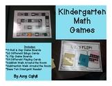 Kindergarten Math Game Pack!