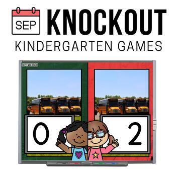 Kindergarten Math Game [September Knockout Club]