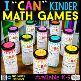 Kindergarten Math Games Kindergarten Math Centers | I CAN Math Games BUNDLE