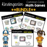 Kindergarten Math Games Bundle {Counting and Cardinality}
