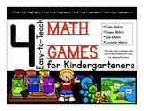 Kindergarten Math Games: Color Sort, Shape Sort, Size Sort, and Location Match
