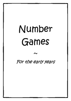 graphic regarding Printable Kindergarten Math Games identify Kindergarten Math Video games - Variety - About 50 game titles + Printables
