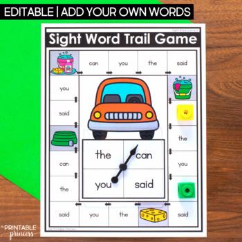 Kindergarten Math Games and Literacy Games BUNDLE