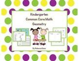 Kindergarten Math {Geometry}