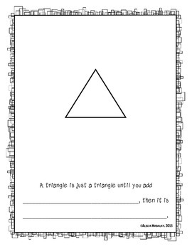 Kindergarten Math (Geometry) - Shape Books