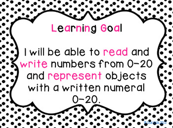 Number Names and the Count Sequence {Kindergarten Lesson}