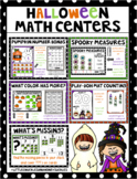 Kindergarten Math Halloween Centers
