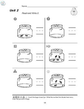 Kindergarten Math Homework