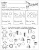 Kindergarten - Math Homework - IN SPANISH - 2nd Quarter