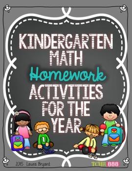Kindergarten Math Homework Practice