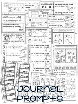 Kindergarten Math: Homework Unit 10 Year in Review