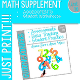 Kindergarten Math Printables Unit 10