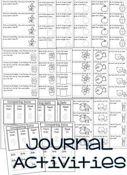 Kindergarten Math Printables Unit 9