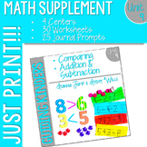 Kindergarten Math Printables Unit 9