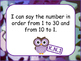 Kindergarten Math I Can Statements