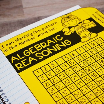 Kindergarten Math Interactive Notebook: Algebraic Reasoning (TEKS)