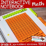 Kindergarten Math Interactive Notebook: Algebraic Reasonin