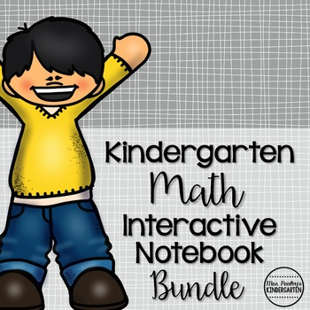 Kindergarten Math Interactive Notebook Bundle