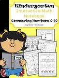 Kindergarten Math Interactive Notebook ~ Comparing Numbers 0-10