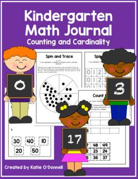 Kindergarten Math Journal