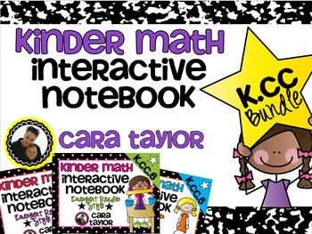 Kindergarten Math Interactive Notebook ~ Counting and Cardinality Bundle