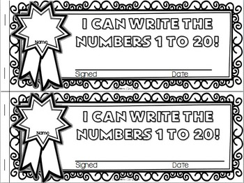 Kindergarten Math Interactive Notebook ~ Emergent Reader Style K.CC.A.3