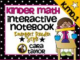 Kindergarten Math Interactive Notebook ~ Emergent Reader Style K.MD.1