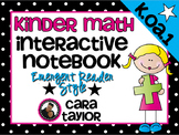 Kindergarten Math Interactive Notebook ~ Emergent Reader Style K.OA.1