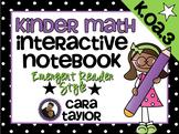 Kindergarten Math Interactive Notebook ~ Emergent Reader Style K.OA.3