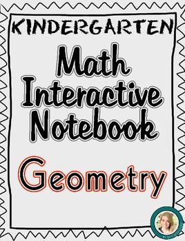 Kindergarten Math Interactive Notebook- Geometry