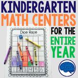 Kindergarten Math - Interactive Notebook, Projects, Centers