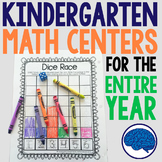 Kindergarten Math - Interactive Notebook, Projects, Centers