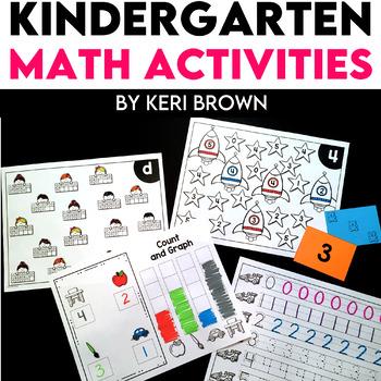 Kindergarten Math Intervention - Set 2